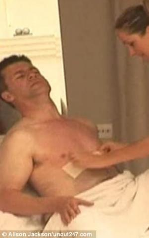male body hair removal - simon cowell