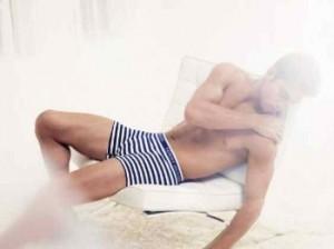 tommy hilfiger male boxers underwear model - andre ziehe