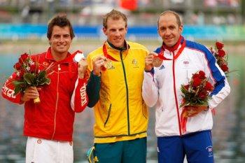 Adam van Koeverden Olympic Medal