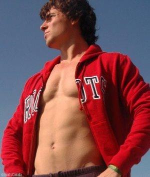 Adam van Koeverden shirtless