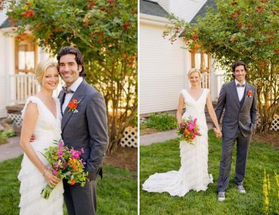 Carter Oosterhouse girlfriend - wedding amy smart