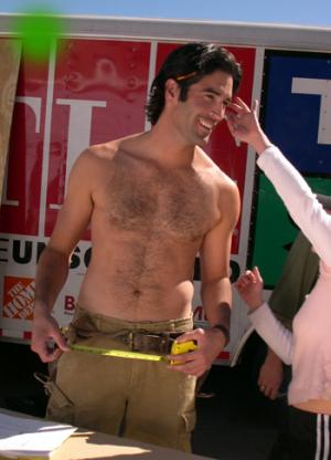 Carter Oosterhouse shirtless body