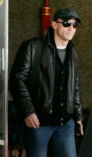 daniel craig leather jacket - aero highwayman brand