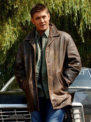 jensen ackles supernatural leather jacket wilsons vintage