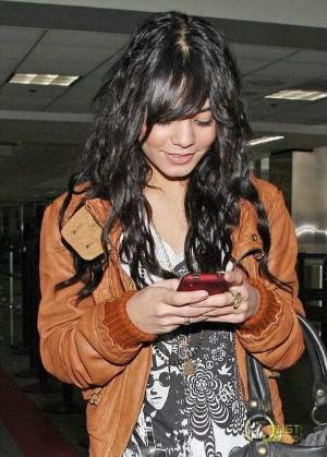 brown leather jackets celebrity style vanessa hudgens prps