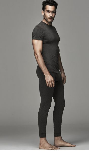 aaron diaz underwear model for ovs - long underwear