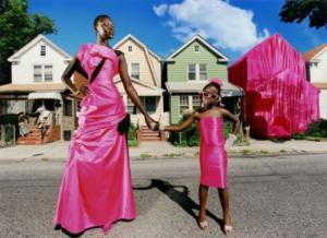 top african female models - alek wek by david lachapelle