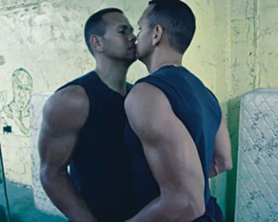 alex rodriguez gay kissing himself