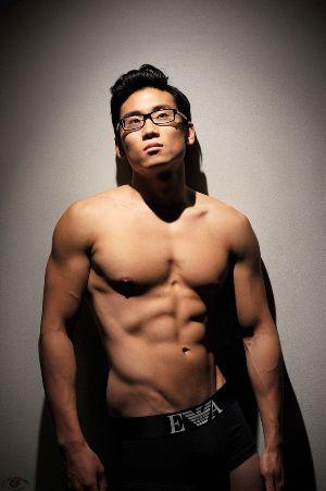 Emporio Armani Mens Underwear Asian Hunk
