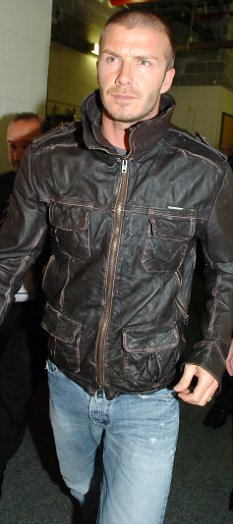 david beckham superdry leather jacket
