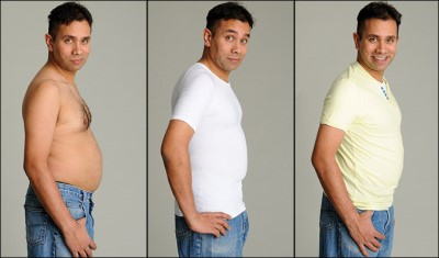 body sculpting shirt for men with big bellies - asda