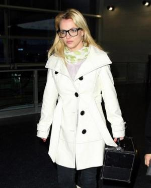 britney spears fashion style watch white coat