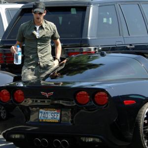 celebrity cars 2017 adrien brody corvette