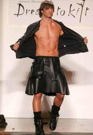 leather kilts for men chris capaldi