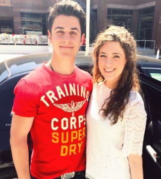 david henrie girlfriend - maria cahill - miss delaware