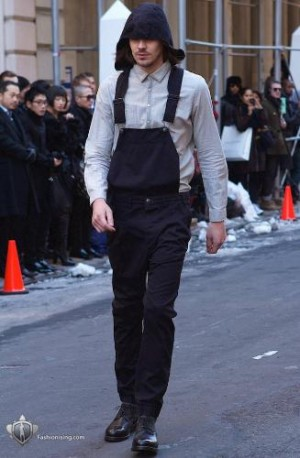 male models in overalls by buckler