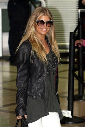 fergie two-piece swimsuit and other fashion style