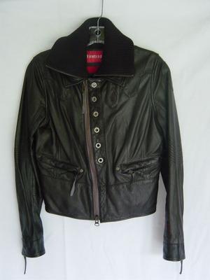firetrap hunta leather jacket