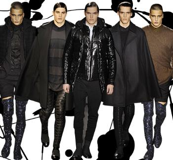 mens leather pants by givenchy