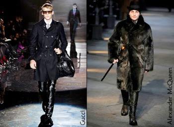mens leather pants gucci