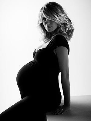 heidi klum maternity dress