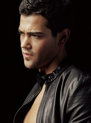 jesse metcalfe leather jacket shirtless