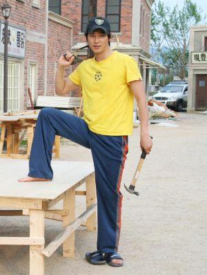 hot korean carpenter