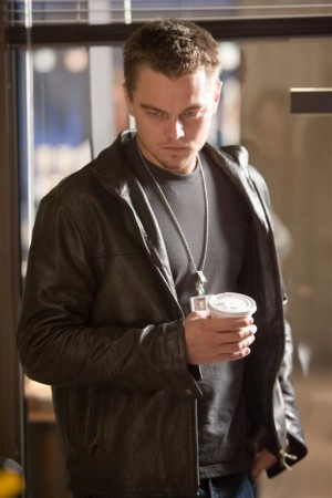 leo di caprio belstaff leather jacket in departed