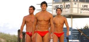 lifeguards in speedo - tim hobards