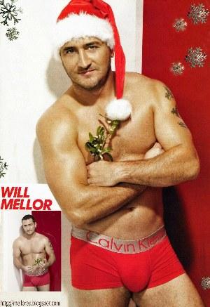 will mellor underwear santa claus impressive package