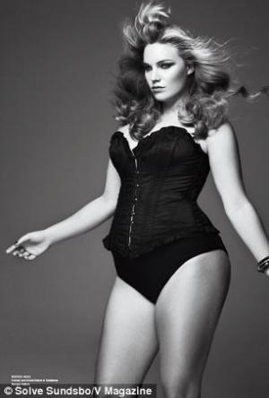 plus size womens underwear corsets - michelle olson dolce gabbana