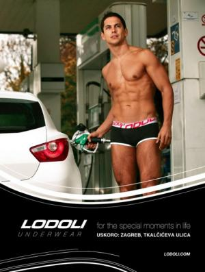 push-up mens underwear - roland lodoli croatian label