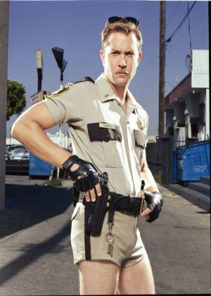 tom lennon hot in police uniform reno 911