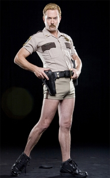 tom lennon hot guy in police uniform reno 911