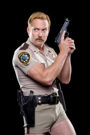 tom lennon is a hot guy in police uniform reno 911