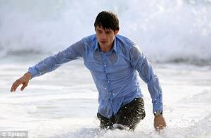 mens wet shirt orlando bloom hot
