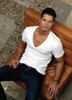 blue jeans white shirt mens style preston lee