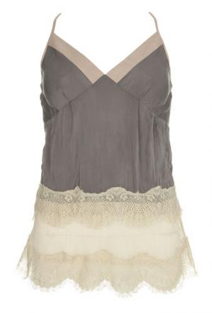 underwear as outerwear camisole