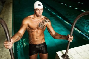 Hot French Men in Speedo Frederick Bousquet - mizuno