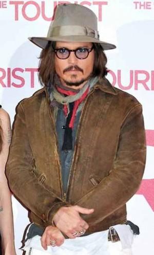 Johnny Depp Leather Jacket levis menlo