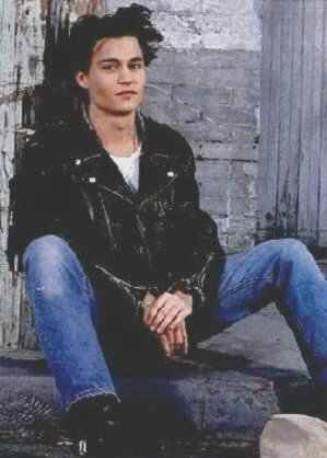 Johnny Depp Leather Jacket schott perfecto