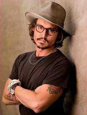 Johnny Depp Leather Jacket stetson hat
