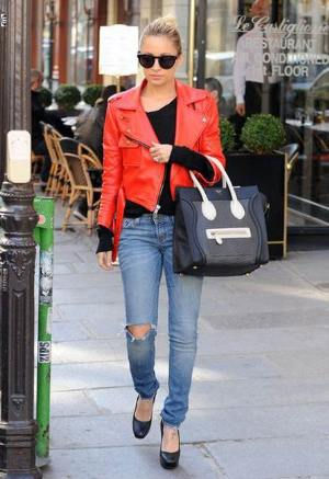 famous womens biker leather jackets