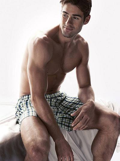 best male underwear model - chad white for hm boxer shorts