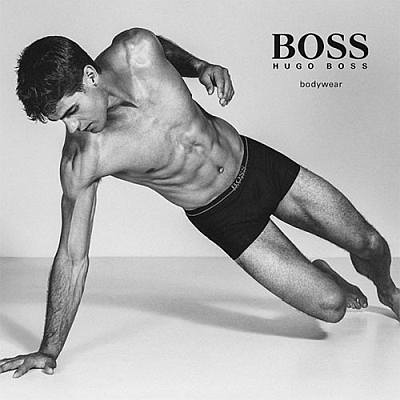 best male underwear model - chad white for hugo boss
