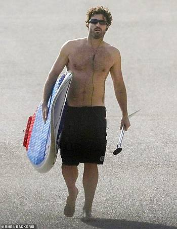 brody jenner hairy chest