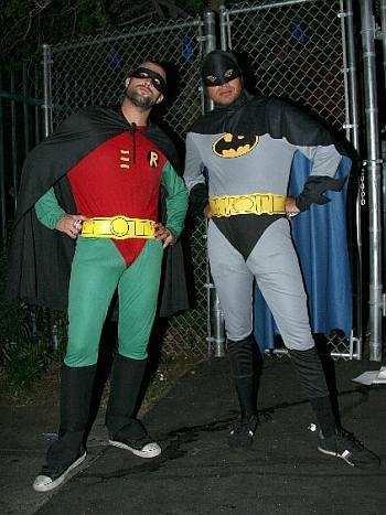 brody jenner bulge in spandex superhero suit