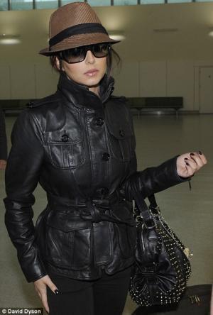 stylish leather jacket for girls cheryl cole
