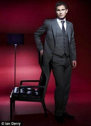 Giorgio Armani Suit For Men Frank Lampard