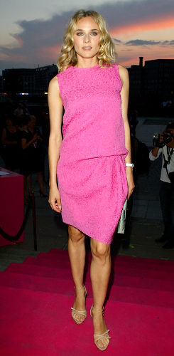 pink dress for girls diane kruger